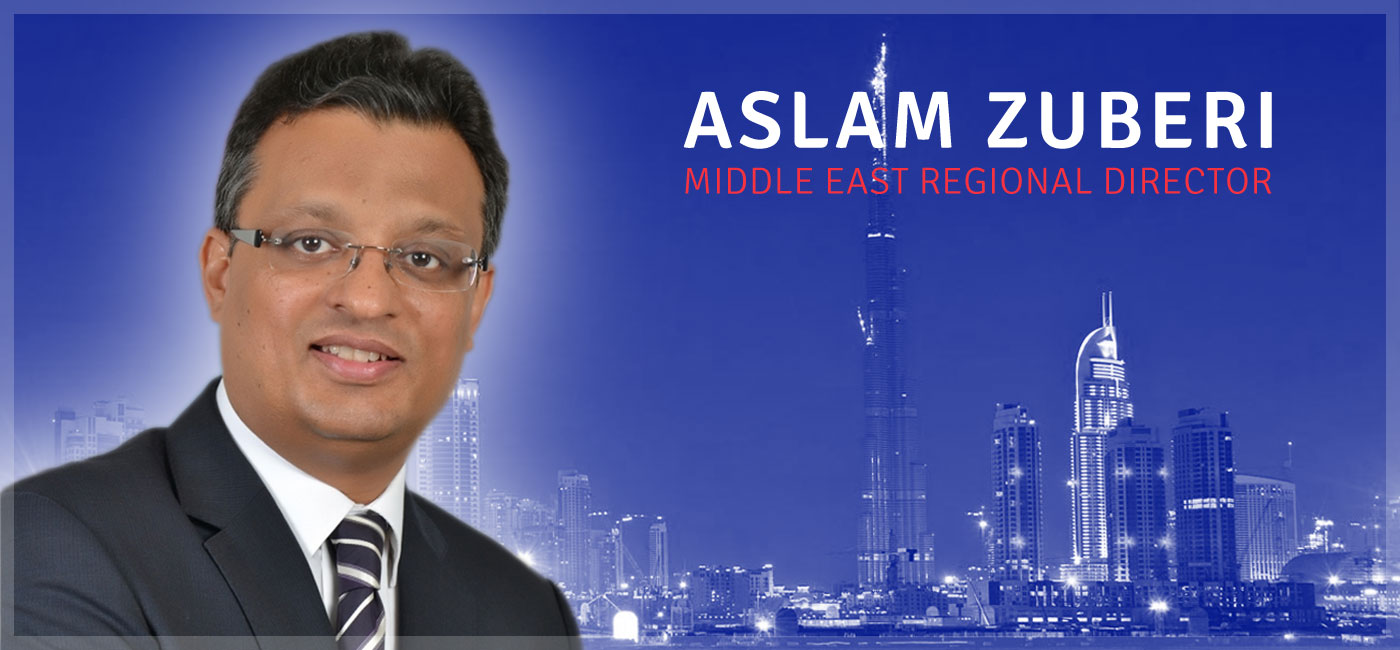 Selsor appoint Aslam Zuberi as Regional Director for the Middle East